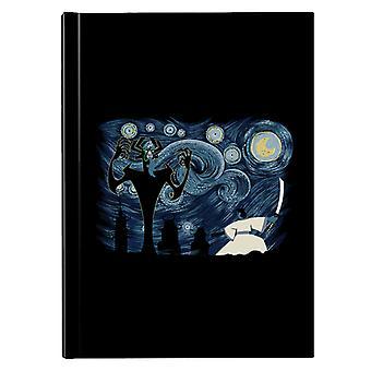 Starry Samurai Jack Hardback Journal