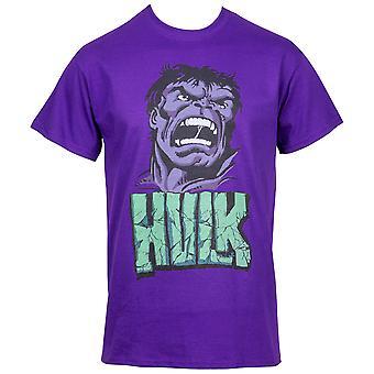 Uskomaton Hulk Attack purple T-paita