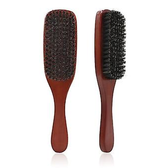 Natural Boar Bristle Beard- Facial Hair Cleaning Brush
