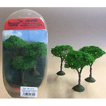 Countryside Trees Type 8 - 3 x 100mm OO Gauge