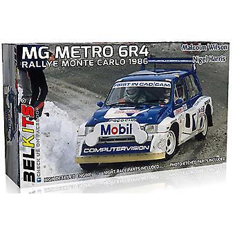 Belkits MG Metro 6R4 Monte Carlo Rally 1986 Wilson / Harris