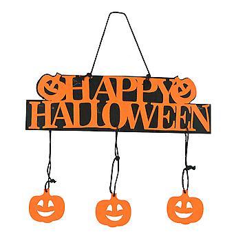 YANGFAN Non-woven Halloween Pumpkin Ghost Hanging Pendant