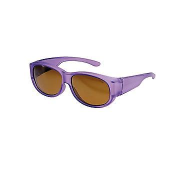 Sunglasses Women's Purple with Brown Lens Vz0010lm