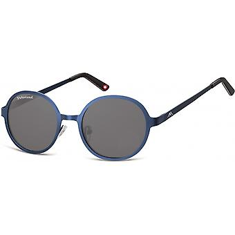 Sonnenbrille Unisex   runde blaue  in rundem Design MP87B