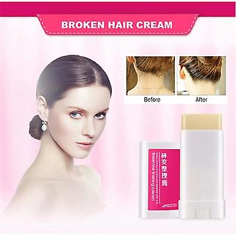 Women Small Broken Hair Essential Finishing Cream - Portable Refreshing Styling Fix Wax