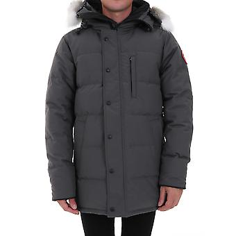 Canada Goose Cg3805m3566 Men's Grey Polyester Outerwear Jacket