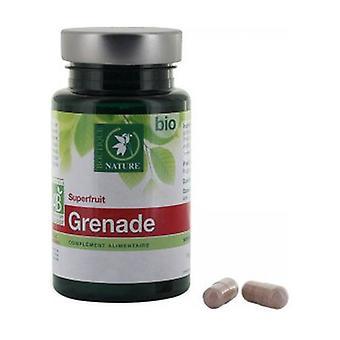 Orgaaninen granaattiomena 60 kapselia
