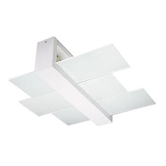 Sollux FENIKS - 2 Licht Flush Plafond Licht wit, E27