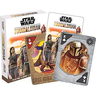 Playing Cards - Star Wars - Mandalorian Poker Games New 52688