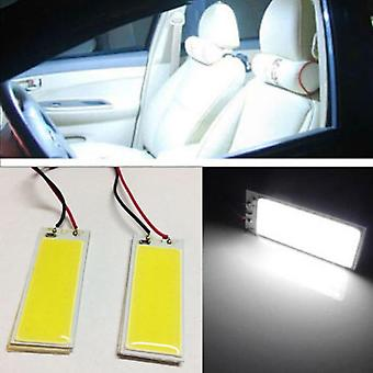 Automobile Hid Cob Led Dome Map Light Bulb Auto Interior Panel Lamp With
