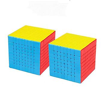 7x7 9x9 8x8 Magic Puzzle Cube, Magnetic Speed Profissional - Meilong Gts 3m Jucărie