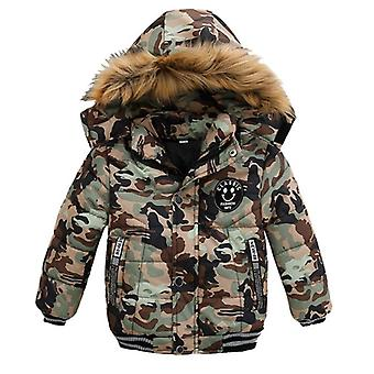 Winter Baby Cotton Coats And Jackets, Warm Hooded Clothes