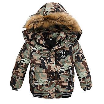 Talvi vauvan puuvillatakit ja takit, lämpimät hupparivaatteet