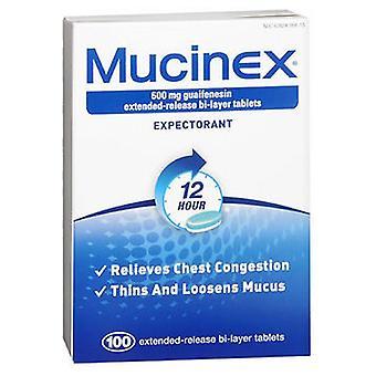 Mucinex Mucinex Extended-Release Bi-Layer, 600 mg, 100 tabs