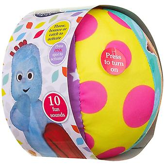 In the Night Garden Super Soft Large Motion Sensor Ball For Ages 12 months+ and