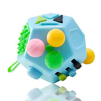 12-sided Decompression Relieve, Stress And Anxiety Educational Toy For And
