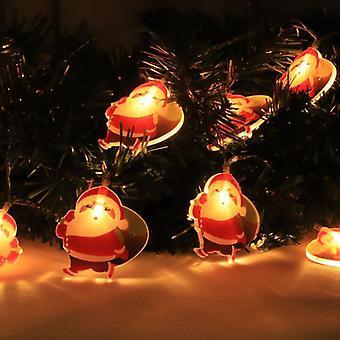 Santa Claus Christmas LED String Lights