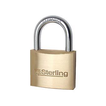 Sterling (Padlocks) Padlock Double Lock Brass 30mm BPL132