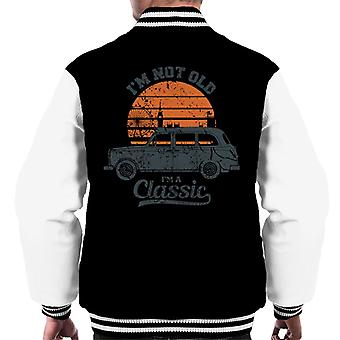 London Taxi Company TX4 Im Not Old Im A Classic Men's Varsity Jacket