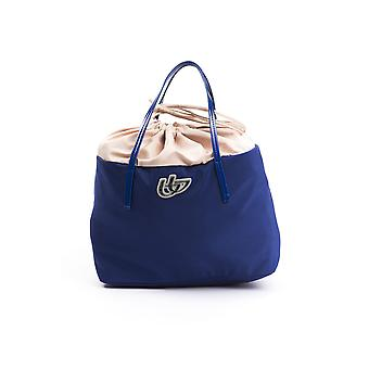 BYBLOS Royal Blue Fabric Bag