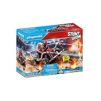 Playmobil 70554 Stunt Visa Brand Quad