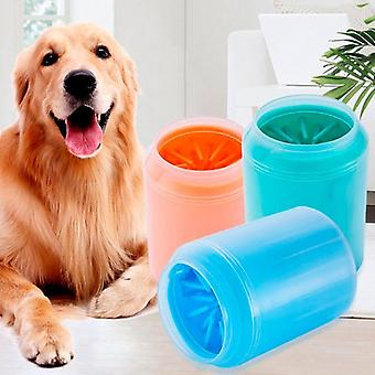 Crab Paw Cleaner Cup Soft Silicone Combs Portable Outdoor Pet Towel Foot Lave-linge