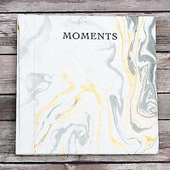 Marble Paper 10x10 Photo Album