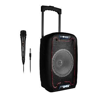 Bärbara Bluetooth-högtalare NGS WildSamba 30W Svart