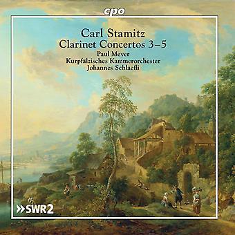 Clarinet Concertos 3-5 [CD] USA import