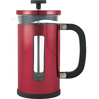 La Cafetiere Pisa 1000ml Metallic Red Coffee Maker with Scoop, 8 Cup