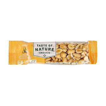 Organic Peanut Bar 1 bar of 40g