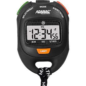 Marathon ADANAC Professional Grade Digital Comfort Grip Stopwatch Timer