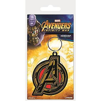 Avengers Infinity War Symbols Keyring