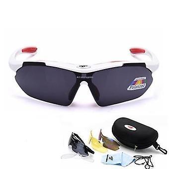 Polarized Cycling Glasses Eyewears 3 Lens Uv400