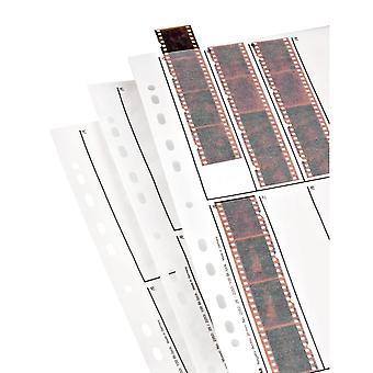 Hama 2252 mâneci de stocare a fișierelor negative, fiecare ținând 10 benzi de 4 (24 x 36 mm) rame, sticlă (