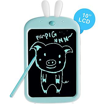 Richgv lcd writing tablet with stylus, 10 inch digital ewriter electronic drawing tablets, portable