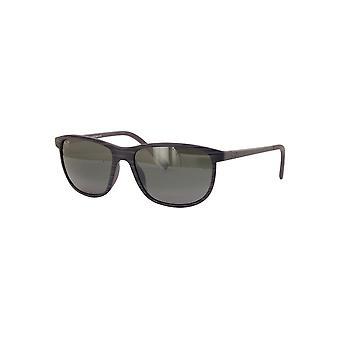 Maui Jim Dragon's Teeth 811 11D Grey Stripe/Neutral Grey Sunglasses