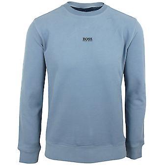 Hugo boss men's open blue weevo 2 sweatshirt