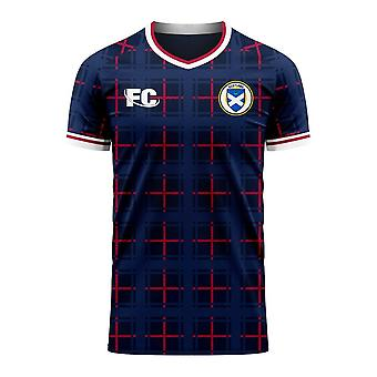 Scotland 2020-2021 Home Concept Shirt (Fans Culture)