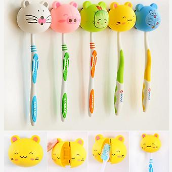 Cute  Animal Head Toothbrush Holder