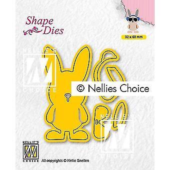 Nellie&s בחירה צורה למות - הצטברות מאצ'ו הייר Sd195 32x60mm