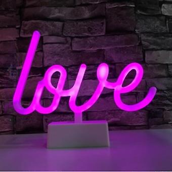 Led Neon Lights Table Lamp