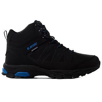 Hi-Tec Raven Mid Mens Outdoor Imperméable à l'eau Marche Chaussure de chaussure de randonnée Noir