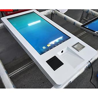 Wall Mounted All In One Pc Built In Self Service Touch Screen Card Reader