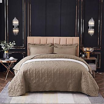 Luxury Soft Washed Cotton Bedspread White Comforter Bed Cover Quilt Blanket