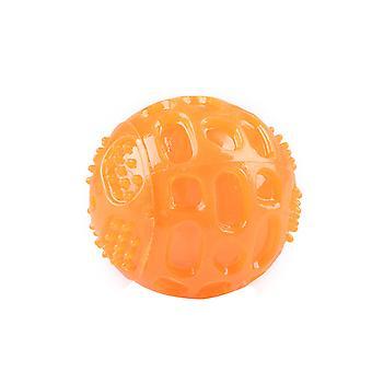 لعبة الكلب، الحيوانات الأليفة الكرة الصوتية المطاط الصوتية الكرة، ومكافحة العض الأسنان ومكافحة مملة تدريب الكرة الصوتية