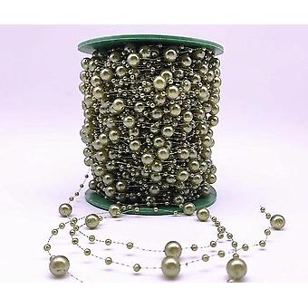 Fishing Line Artificial Pearls Flower Beads Chain