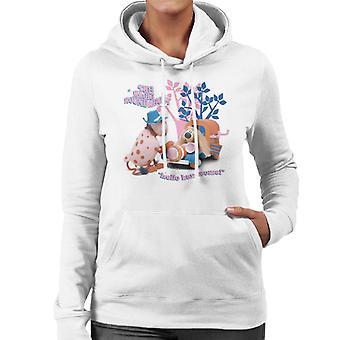 The Magic Roundabout Ermintrude & Dougal Hello Handsome Women's Hooded Sweatshirt