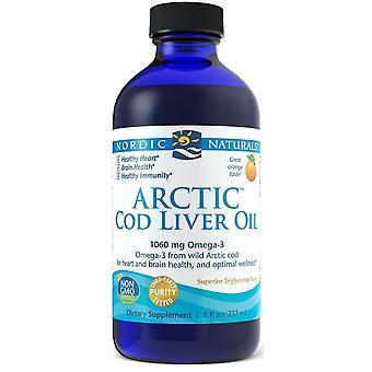 Nordic Naturals Arctic Cod Liver Oil Strawberry 237 ml
