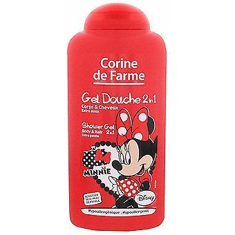 Corine De Farme Minnie 2 in 1 Shower Gel 250 ml